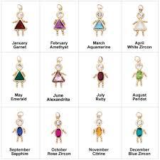 november birthstone jewelry new 14k yellow gold birthstone boy or kids child pendant
