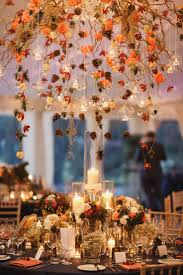 autumn wedding ideas best 25 wedding centerpieces ideas on blue