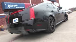 2009 cadillac cts v flowmaster custom dual system by kinney s