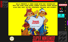 image raggedy ann and andy snes cover png greeny phatom wiki
