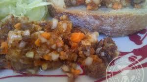 cuisiner le hareng salade ou chiquetaille de harengs saur antillaise recette par miss