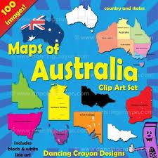 states australia map australia maps clip maps of australia and australian states
