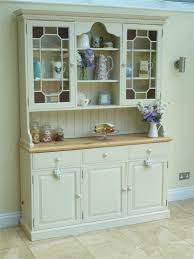 beautiful shabby chic glazed welsh dresser painted in farrow