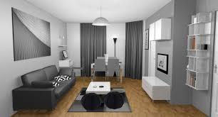décoration intérieure salon cuisine salon bleu marine et blanc inspirations avec deco peinture