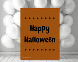printable halloween home decorations welcome haunted house