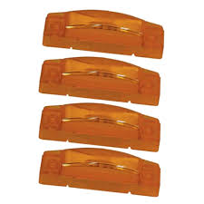 grote led trailer lights 4 grote amber led clearance marker trailer lights ebay grote led