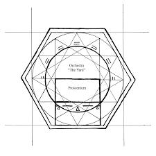 ground plan illustration ground plan of globe theatre exemplar fragmentorum