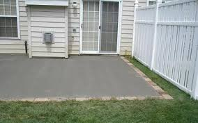 Concrete Patio With Pavers Llcontracting South Jersey Ep Henry Paver Patio And Walkways
