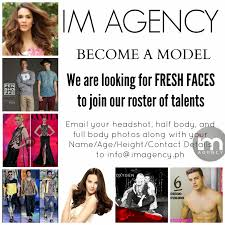 commercial print model agency im agency become a model