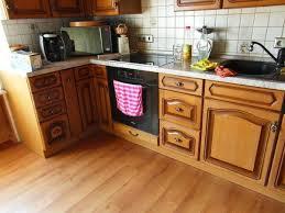 küche verschönern küche eiche rustikal vorher nachher home deko ideen 17 kreative