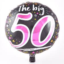 birthday balloons for him explore our range of 50th birthday balloons from 99p