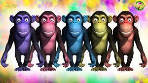 monkey dance music for children 3d animated songs