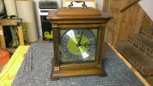 Linden Mantel Clock Linden Triple Chime Bracket Clock C 1982 Germany James U0027 Clock