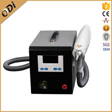 top selling portable q switch nd yag laser tattoo removal machine