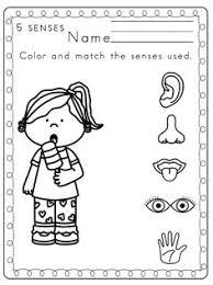 sense of hearing free printables worksheets and preschool