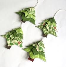origami tree package toppers by paperimaginations