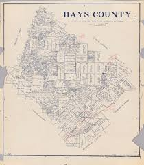 Austin County Map by Hays County The Portal To Texas History