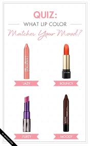 pink matches with what color quiz what lip color matches your mood makeup com