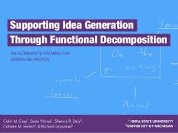 framing alternatives supporting idea generation through functional decomposition an alter u2026