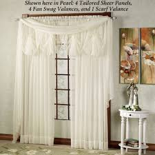 living room valances and swags elegant living room valances