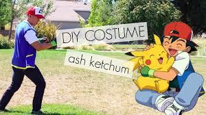 Ash Ketchum Halloween Costume Diy Costume Ash Ketchum Pokemon