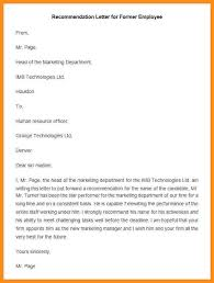 letter of recommendation sle recommendation letter sle for an employee 28 images letter of