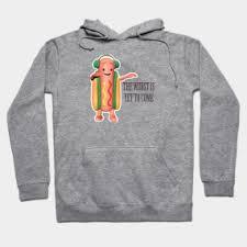 Dancing Dog Meme - dancing hot dog meme hoodies teepublic