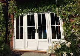 wood french patio doors exterior home design ideas