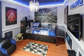 Galaxy Themed Bedroom The Force Is Strong In These 4 U0027star Wars U0027 Themed Bedrooms