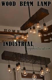 wood beam light fixture wood beam chandelier function art sculpture in one
