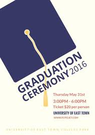 graduation poster graduation ceremony poster template template fotojet