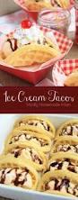 ice cream tacos ice cream taco and waffles