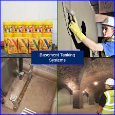 Basement Tanking Methods - basement tanking products and tanking systems including cellar