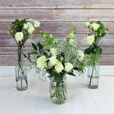 white wedding bouquets white flowers diy white wedding flowers bloomsbythebox