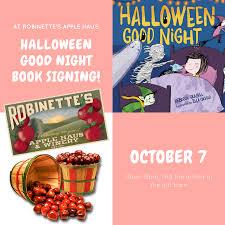 halloween good night book signing at robinette u0027s u2014 rebecca grabill