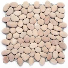 Lowes Pebble Rocks by Shop Solistone River Rock Pebbles 10 Pack Pink Pebble Mosaic Floor