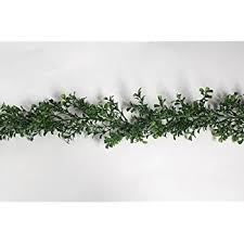 artificial display foods boxwood garland 6