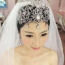 bridal tiara 2017 fashion large bridal tiara women pageant crowns