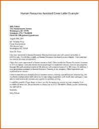 Cv Cover Letter Samples Sample Cover Letter For Resume Human Resources