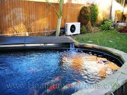 koi pond heating with heat pumps heatpumps4pools