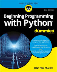 python tutorial ebook beginning programming with python for dummies by john paul mueller