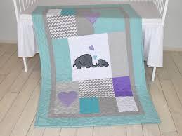 Purple Elephant Crib Bedding Teal Elephant Crib Bedding Baby Crib Design Inspiration