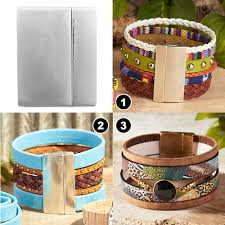 leather bracelet clasps images Choosing the right clasp for your leather jewelry goodybeads blog jpg