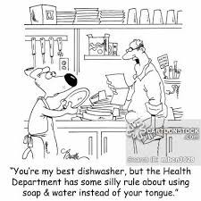 Dishwasher Not Using Soap Dishwasher Cartoons And Comics Funny Pictures From Cartoonstock
