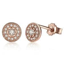 gold stud earrings for men pave gold stud earrings black earrings for men