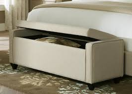 bedrooms foot of bed storage bench long storage bench white