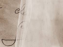 White Curtains For Nursery by One White Bed Canopy Curtain Net Lace Sheer Panels Nursery