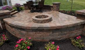 Pictures Of Pavers For Patio Paver Patios Columbus Landscaping U0026 Tree Services