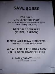 cemetery plots for sale for sale cemetery plot never used passiveaggressivenotes