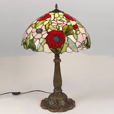 Glass Lamps Tiffany Stained Glass Lamps Lighting And Ceiling Fans